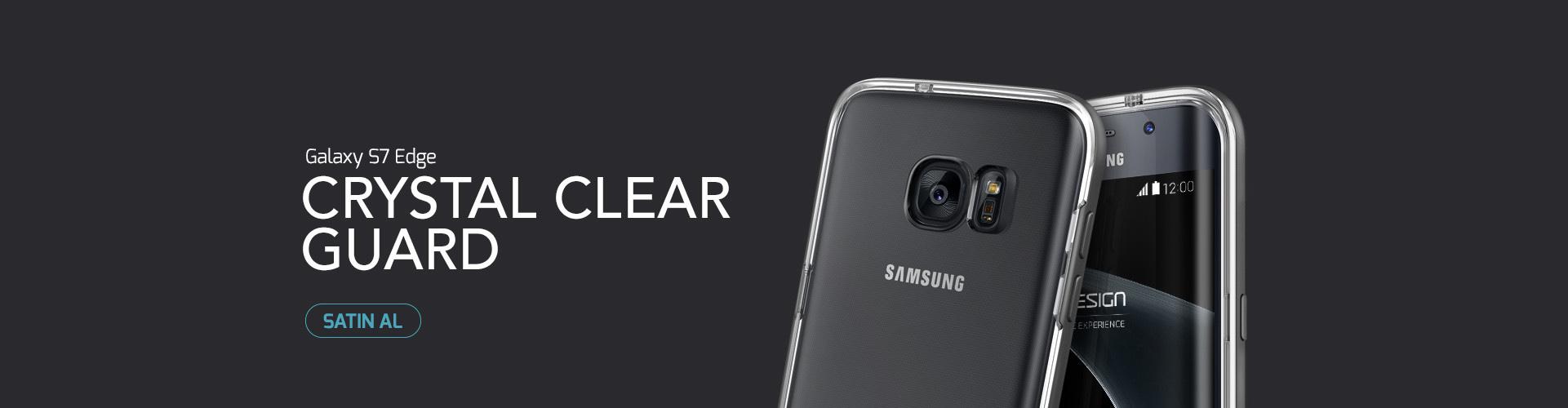 Verus Samsung Galaxy S7 Edge Crystal Bumper Kılıf